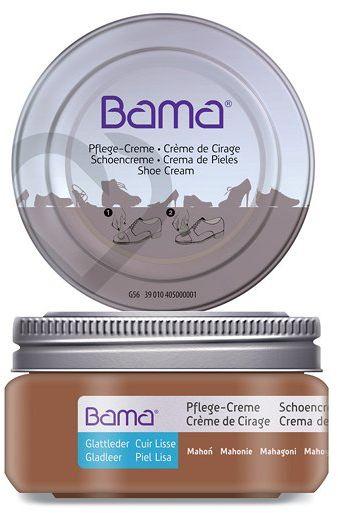 Krem do obuwia BAMA Premium 035 Mahoń 50ml w słoiczku
