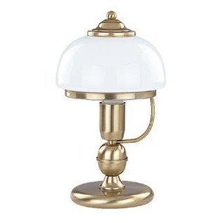Lampa stołowa klasyczna PARIS patyna/biały