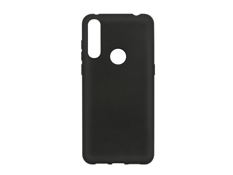 Alcatel 3L (2020) - etui na telefon Soft Flex - czarny