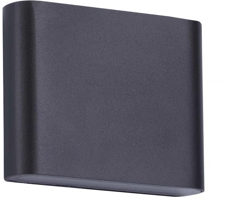 Kinkiet Sapri LP-1556/1W BK Light Prestige czarna lampa ścienna w minimalistycznym stylu