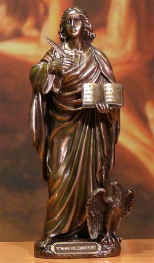 Figurka Święty Jan Ewangelista