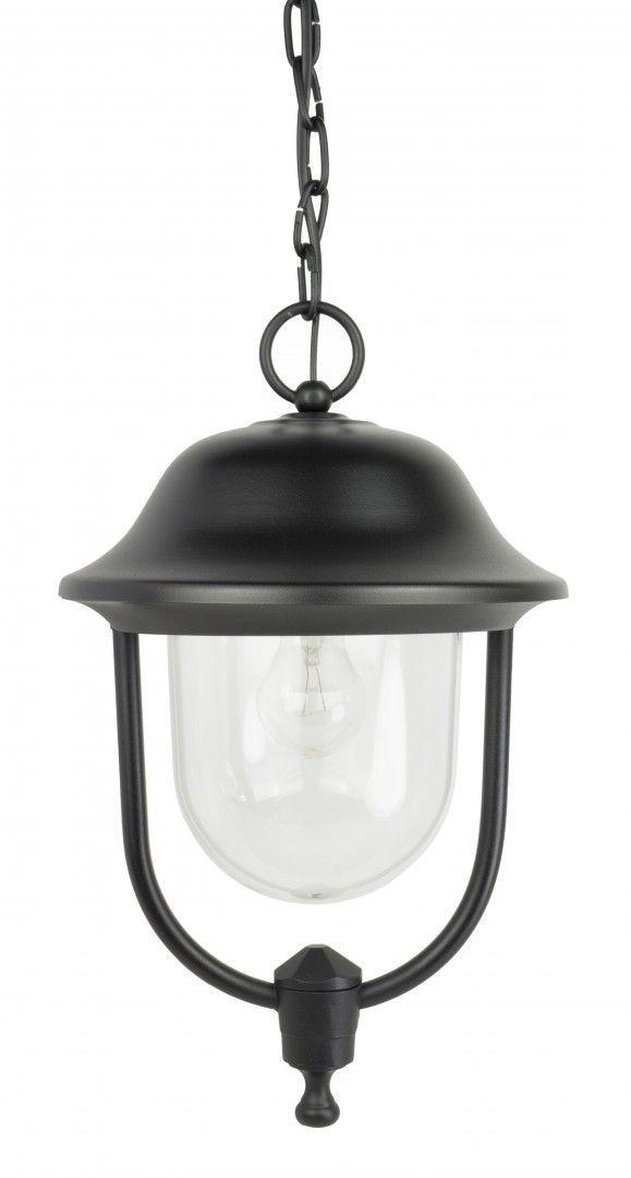 SU-MA Prince K 1018/1/O lampa wisząca czarna IP43