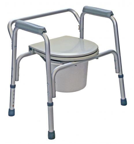 Krzesło toaletowe - sanitarne z regulacją (kt)