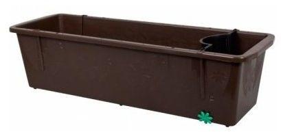Doniczka 6L samonawadniająca Brąz 60x20x18cm Frajman