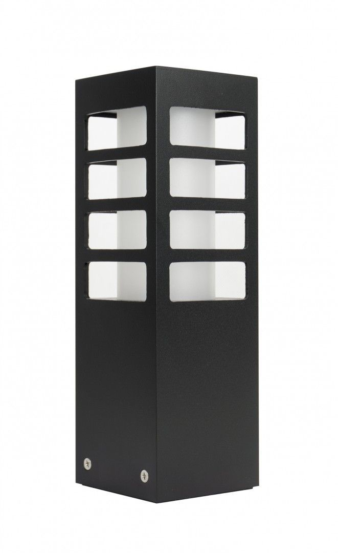 SU-MA RADO III 3 BL lampa stojąca czarna E27 IP54 25cm