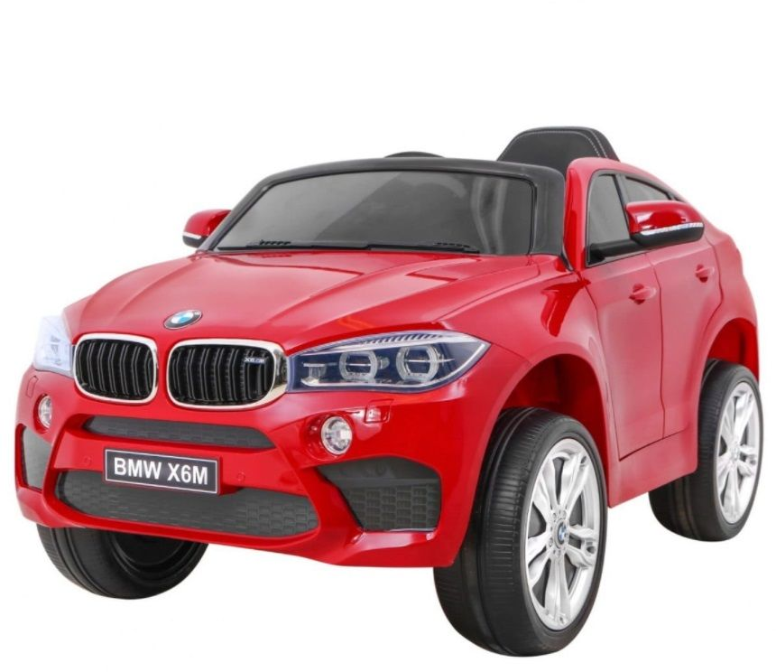 Pojazd Ramiz Samochód BMW X6M XXL lakier czerwony