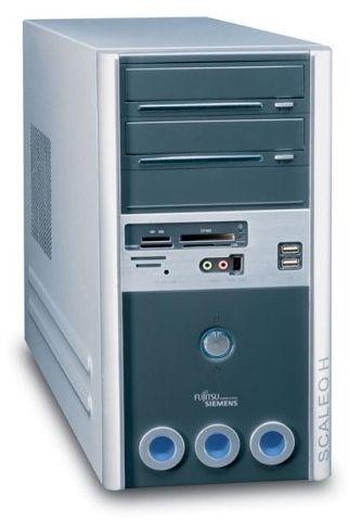 Fujitsu Scaleo Hid Desktop PC (Intel Pentium D 3,0 GHz, 1 GB RAM, 250 GB HDD, DVD+-RW DL, NV6600, XP Media Center)