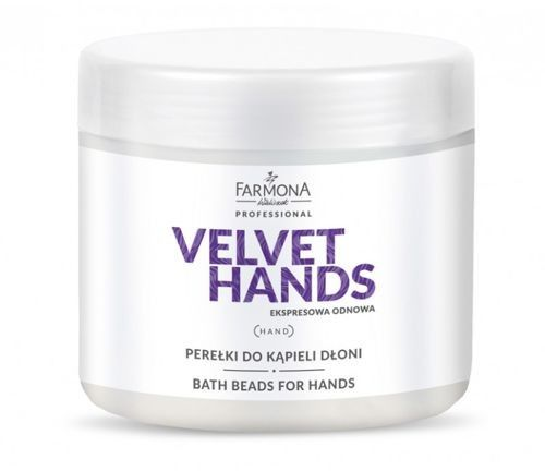 Farmona VELVET HANDS Perełki do kąpieli dłoni - 380 g