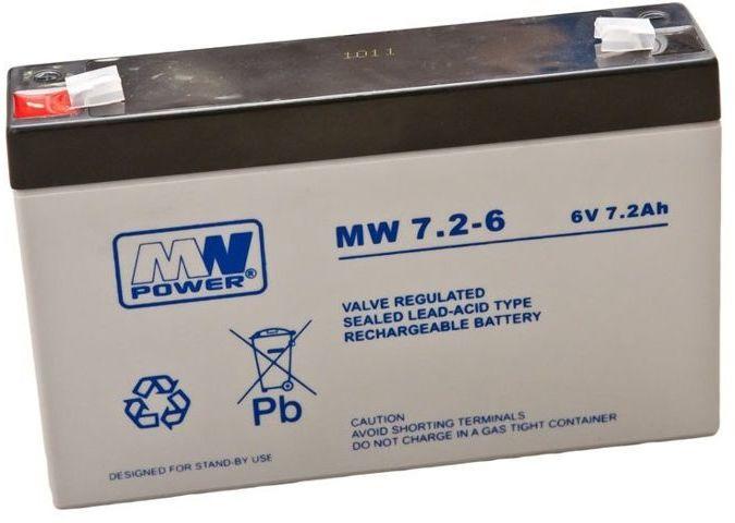 Akumulator żelowy 6V 7,2Ah