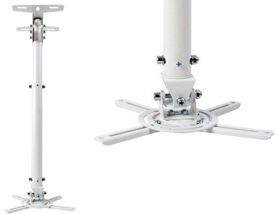 Optoma OCM815W uniwersalny uchwyt sufitowy 58-83 cm - biały