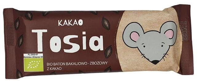 Baton bakaliowo-zbożowy z kakao bio 37 g - helpa