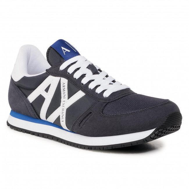 Sneakersy ARMANI EXCHANGE - XUX017 XCC68 K487 Navy/Op.White
