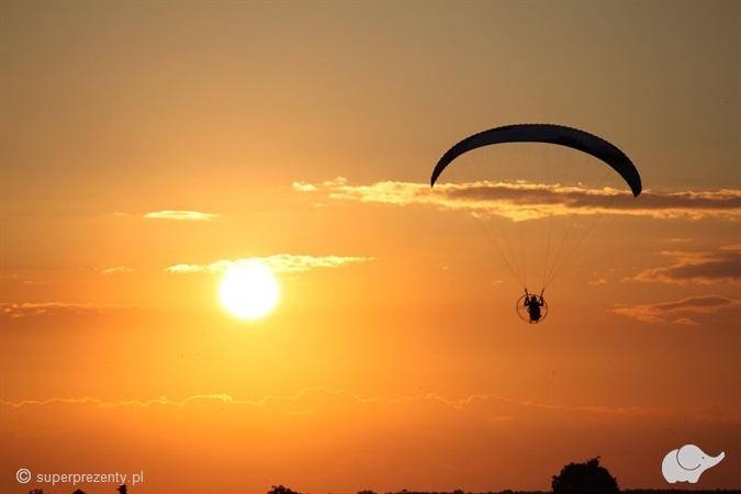 Lot widokowy motoparalotnią dla Dwojga