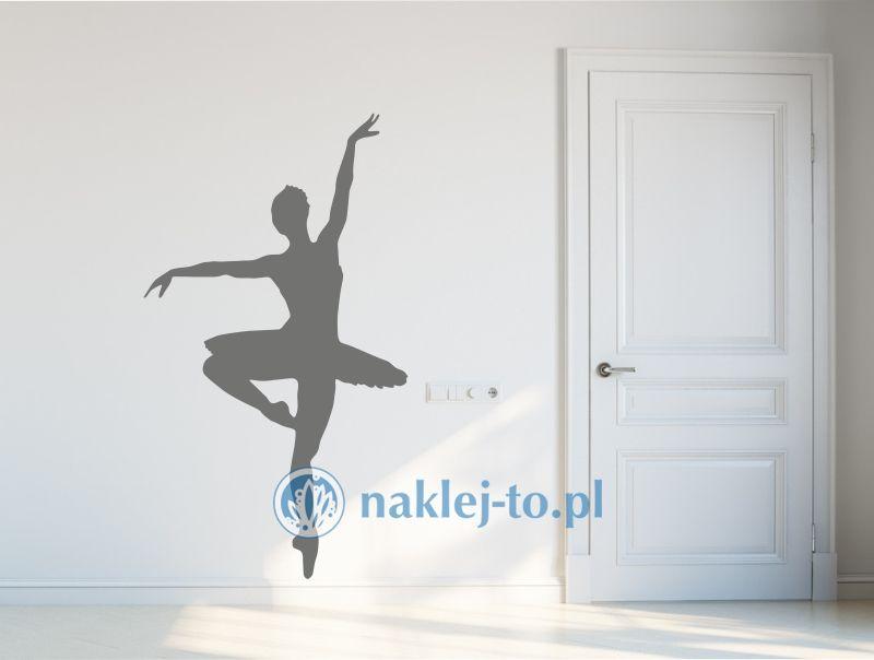 baletnica naklejka dekoracyjna Seria ludzie