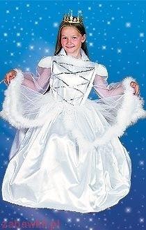 Sezamik Strój karnawałowy Królowa śniegu 0471