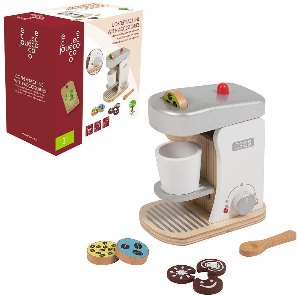 Jouéco  80058  drewniany ekspres do kawy z akcesoriami