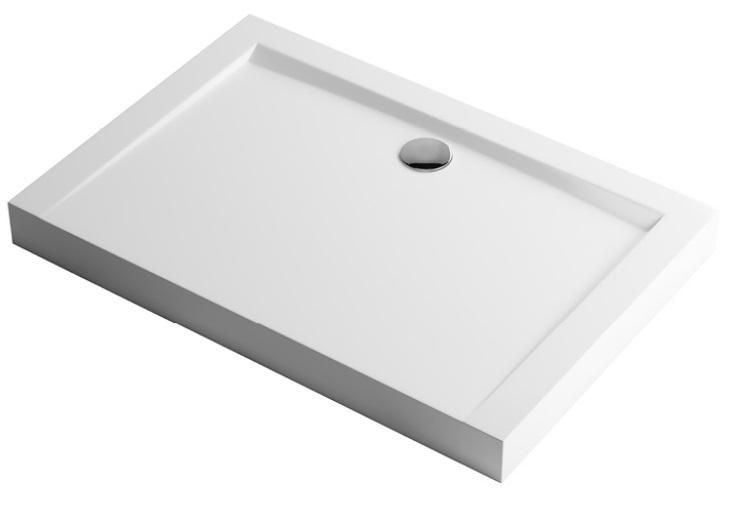 Excellent Forma Compact Brodzik prostokątny 120X80 biały
