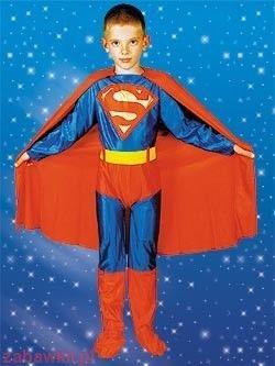 Strój karnawałowy Superman Superczłowiek 0266
