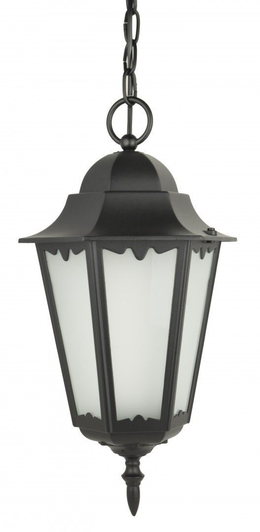 SU-MA Retro Classic II K 1018/1/DH lampa wisząca czarna E27 IP43