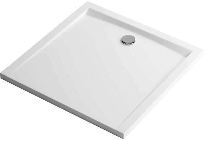 Excellent Forma Brodzik kwadratowy 80X80 biały