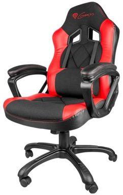 Krzesło dla graczy NATEC-GENESIS SX33 Czerwony. > DARMOWA DOSTAWA ODBIÓR W 29 MIN DOGODNE RATY