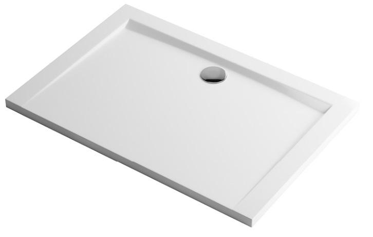 Excellent Forma Brodzik prostokątny 120X80 biały