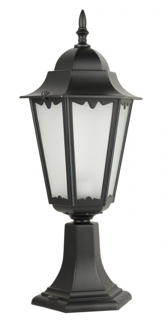 SU-MA Retro Classic II K 4011/1 H lampa stojąca czarna E27 IP43 52cm