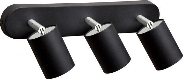 Lampa sufitowa Eye spot black 3 punktowy spot listwa czarna 6021 - Nowodvorski Do -17% rabatu w koszyku i darmowa dostawa od 299zł !