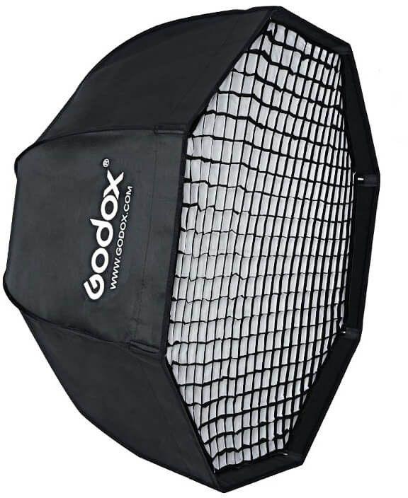 Godox SB-GUBW80 - modyfikator światła, softbox, parasolka, grid, Octa 80cm Godox SB-GUBW80