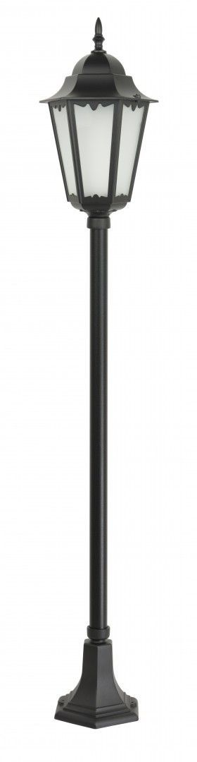 SU-MA Retro Classic II K 5002/1 H lampa stojąca czarna E27 IP43 165cm