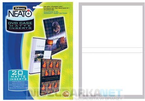 Wkładki do pudełek DVD
