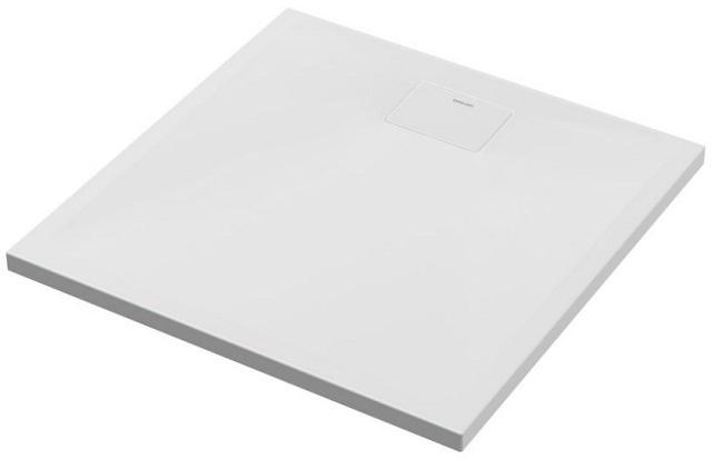 Excellent Zero Brodzik kwadratowy z pokrywą 100X100 biały