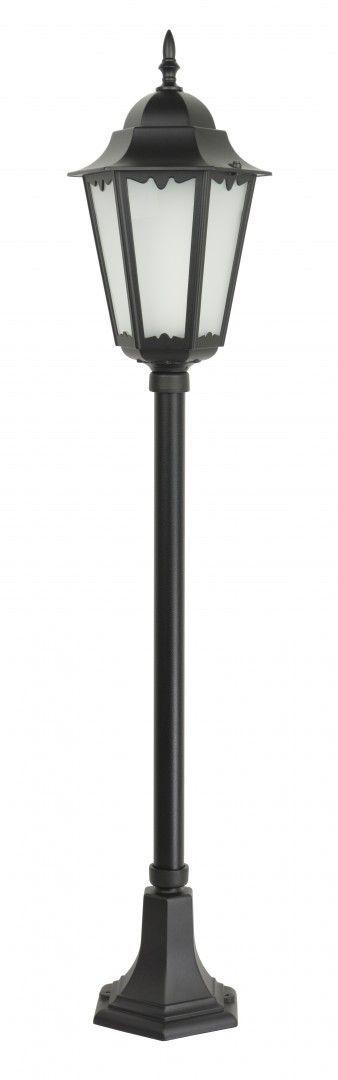 SU-MA Retro Classic II K 5002/2 H lampa stojąca czarna IP43 E27 115cm