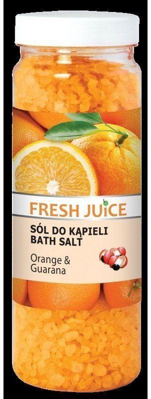 Elfa Pharm Fresh Juice Sól do kąpieli Orange & Guarana 700g