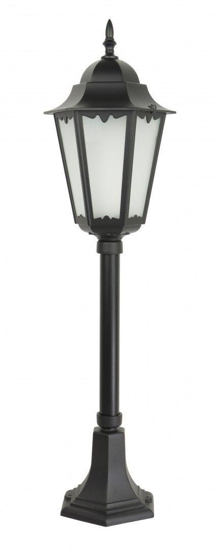 SU-MA Retro Classic II K 5002/3 H lampa stojąca czarna E27 IP43 85cm