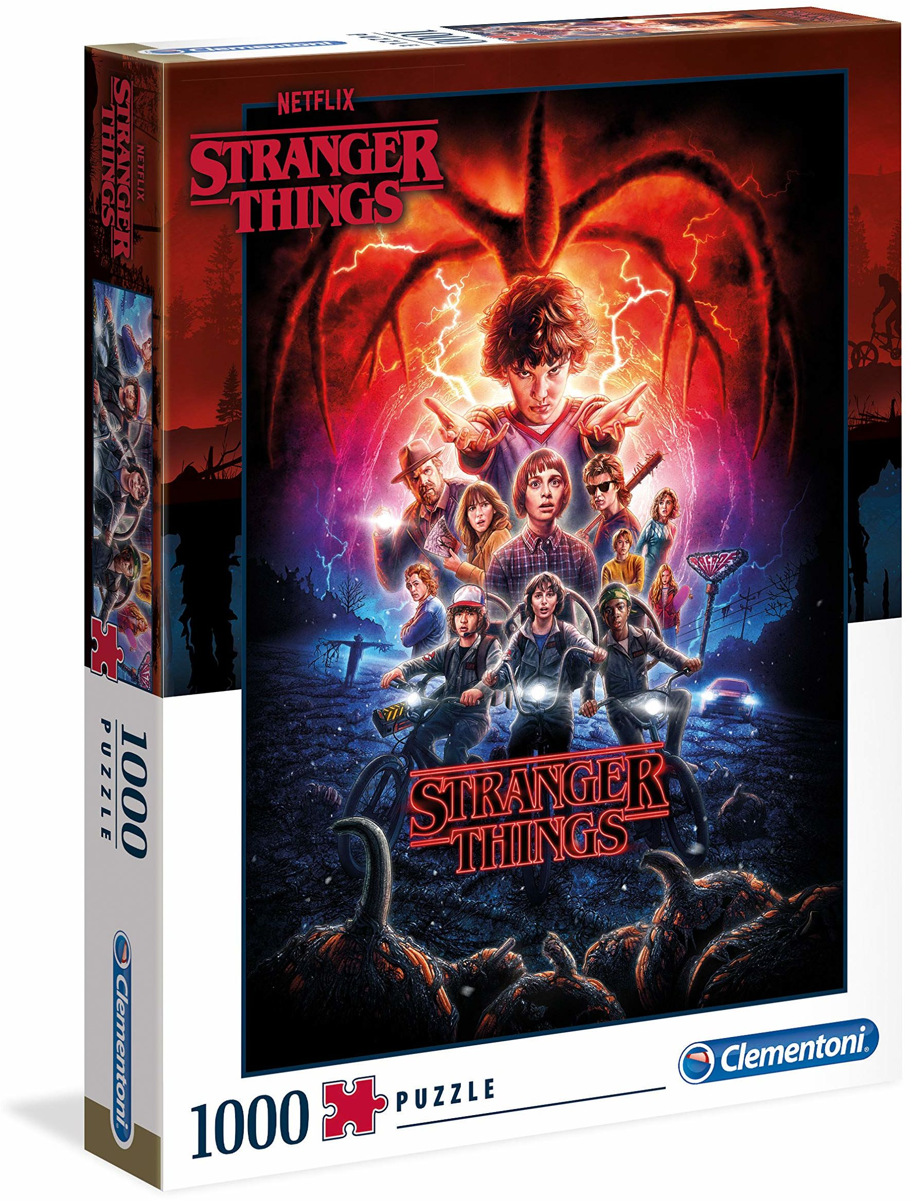 Clementoni 39543 Stranger Things Things-1000 szt. Puzzle 2