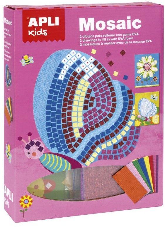 Apli Kids - Zestaw Artystyczny Apli Kids Mozaika - Motylek