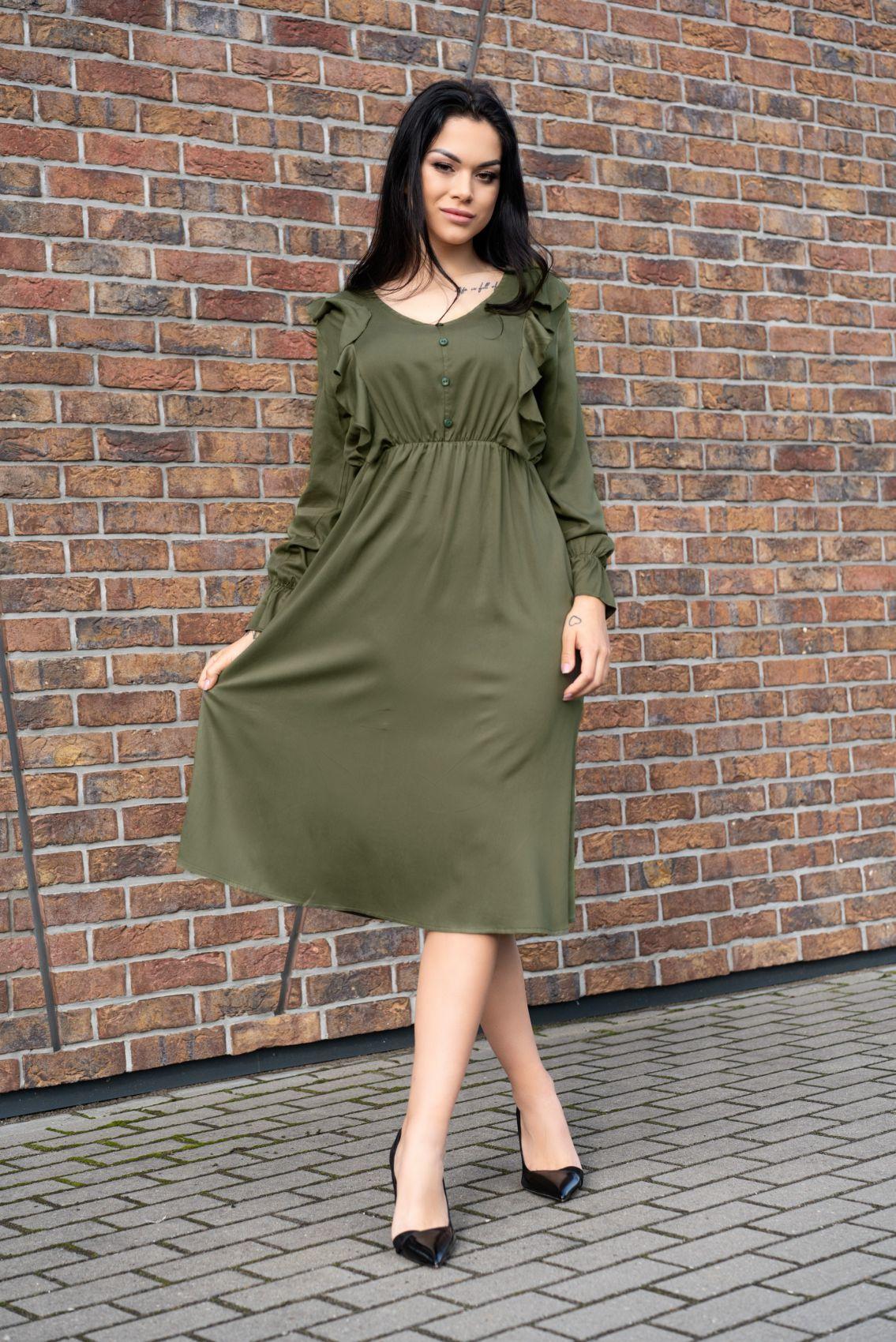 Ratsim Khaki D09 sukienka