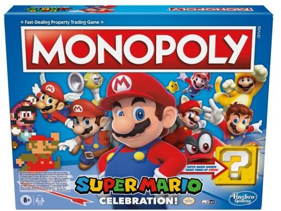 Gra Monopoly Super Mario Celebration
