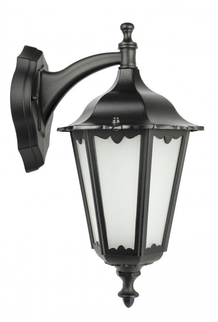 SU-MA Retro Classic K 3012/1/D kinkiet lampa ścienna czarna E27 IP43