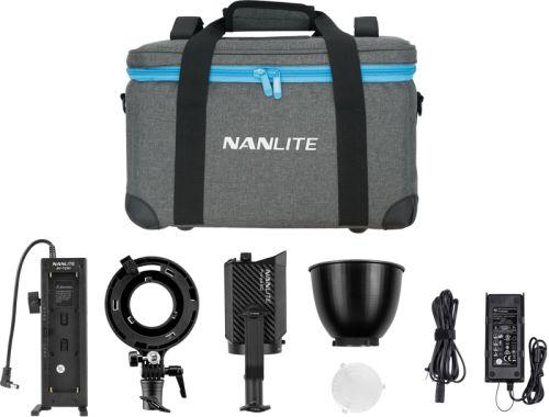 NanLite Forza 60 KIT - zestaw lampa, adapter Bowens AS-BA-FZ60, uchwyt BH-FZ60