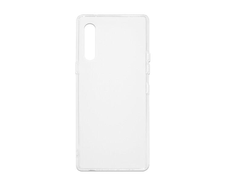 LG Velvet - etui na telefon FLEXmat Case - biały