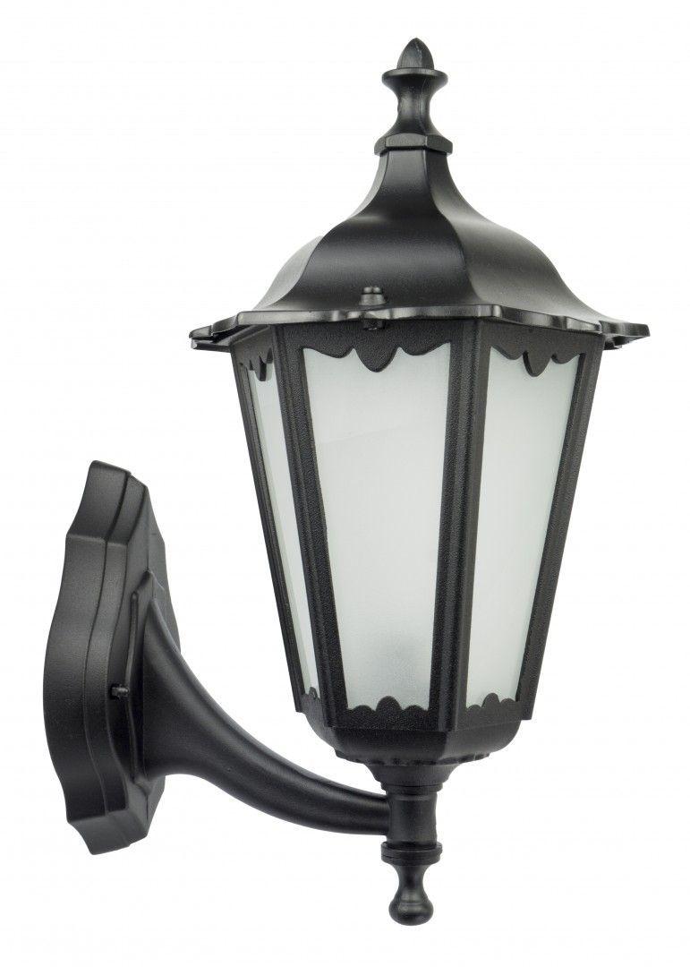 SU-MA Retro Classic K 3012/1/D g kinkiet lampa ścienna czarna E27