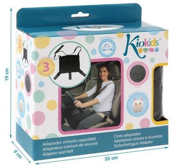 KIOKIDS - Adapter do Pasa Samochodowego Dla Kobiet w Ciąży, Kiokids