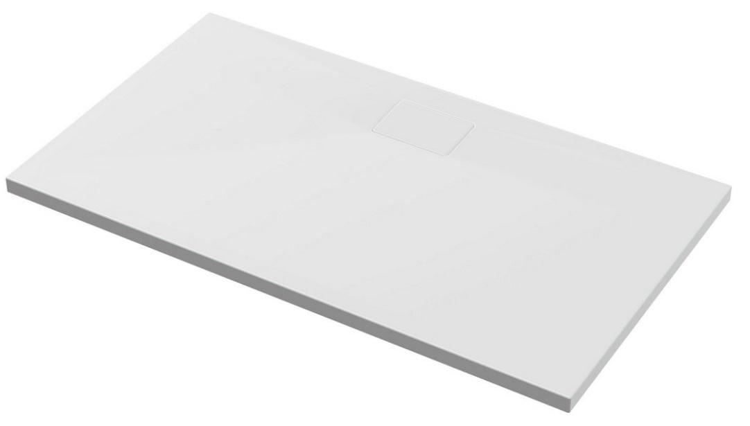 Excellent Zero Brodzik prostokątny z pokrywą 140X80 biały