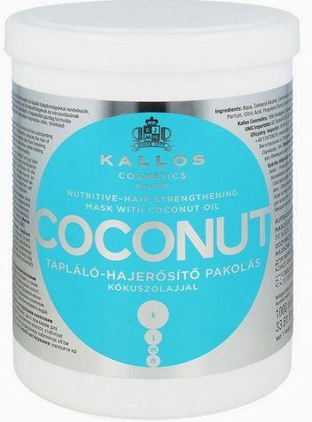 Kallos Coconut maska do włosów suchych 1000 ml
