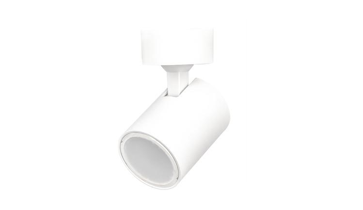 Biały stylowy kinkiet SNOW spot GU10