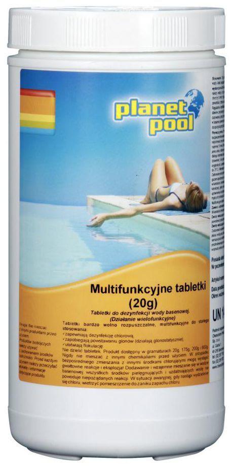 Tabletki do basenu 1 kg / 20 g x 50 szt. PLANET POOL CHEMOCHLOR