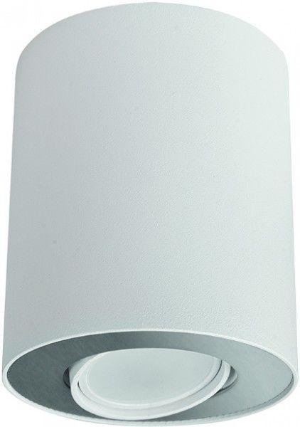 Tuba natynkowa biało srebrna regulowana Set 8897 - Nowodvorski Do -17% rabatu w koszyku i darmowa dostawa od 299zł !