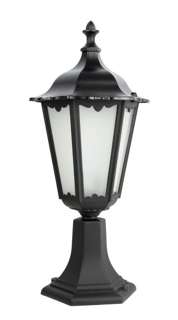 SU-MA Retro Classic K 4011/1 lampa stojąca czarna IP43 E27 51cm